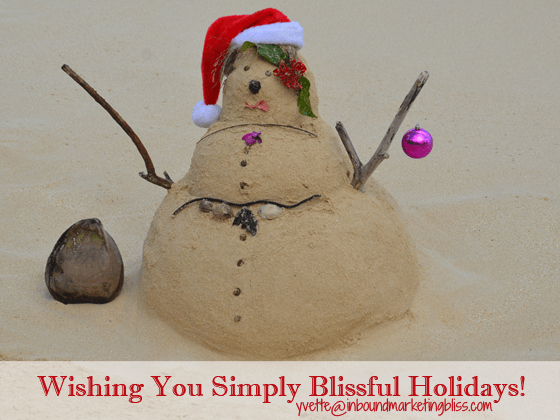 Wishing You Simply Blissful Holidays!