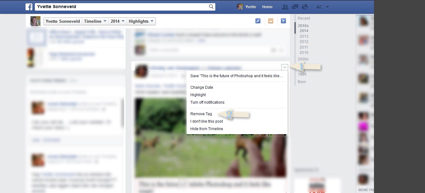 How To Remove Your Tag From A Post On Your Timeline
