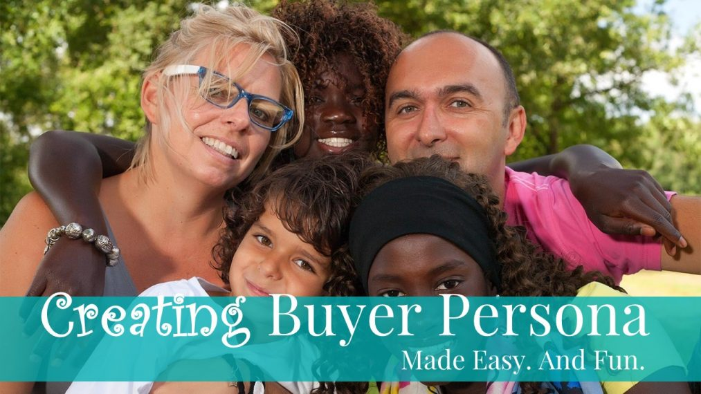 Creating Buyer Persona Made Easy. And Fun. Front Slide