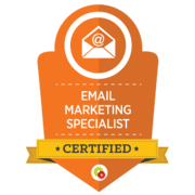 Yvette Sonneveld is a certified e-mail marketing specialist